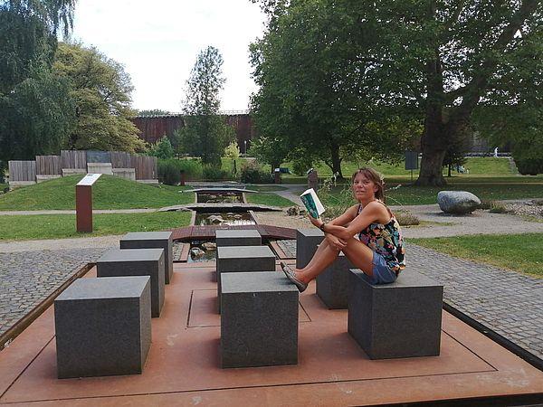 Der Bibelgarten im Bad Rothenfelder Kurpark