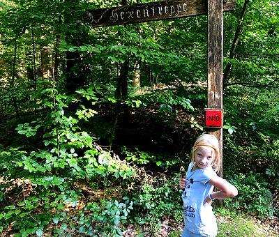 Die Hexentreppe im Waldgebiet Maiburg in Bippen ist ein sagenhafter Platz.