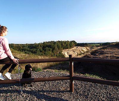 Die Aussicht auf den Unesco Natur- und Geopark TERRA.vita ist traumhaft. Erleben Sie Natur pur im Wacholderhain mit Barfußpark in Merzen.