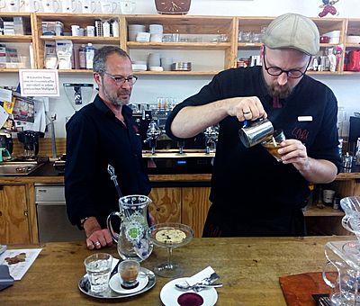 Der Kaffeeladen aromaintensive frische Röstungen.