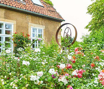Garten des Restaurant-Café Kroneck-Salis in Bad Iburg
