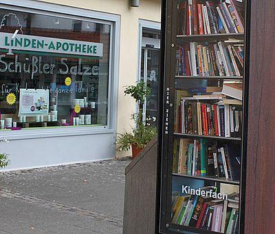 Seit 2012 steht der öffentliche Bücherschrank in Bad Essen bereits an seinem Platz.