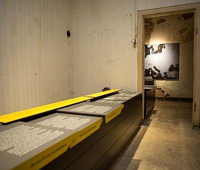 Ausstellung in der Gedenkstätte Augustaschacht