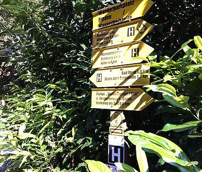 In Bad Iburg im Süden des Osnabrücker Landes werden Wanderer gut geführt