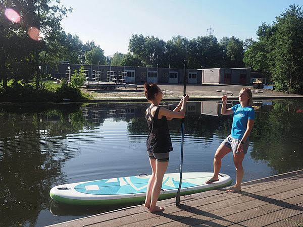 Stand Up Paddling Kurs in Osnabrück