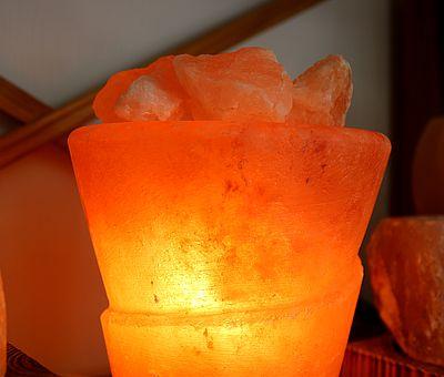 In der Salzgrotte in Bad Essen können die Besucher 45 Minuten entspannen.