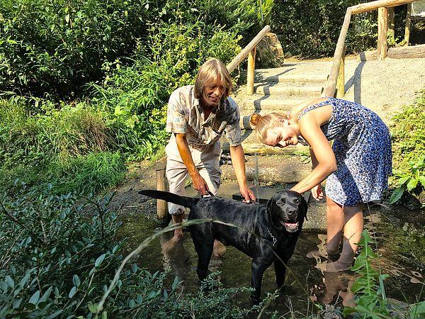 In Bad Iburg ist die Kneipp-Kur ein großes Thema im Bereich Gesundheit. Auf Wanderungen mit Hund können nun auch die Vierbeiner Wassertreten.