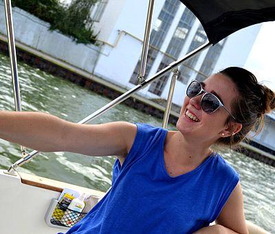 Viel Spaß auf einem Motorboot vom Bootsverleih von der Marina in Bad Essen im Osnabrücker Land.