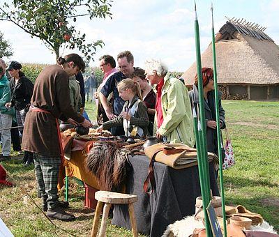 In Ostercappeln-Venne ist ein Wohnstallhaus aus der vorrömischen Eisenzeit entstanden.