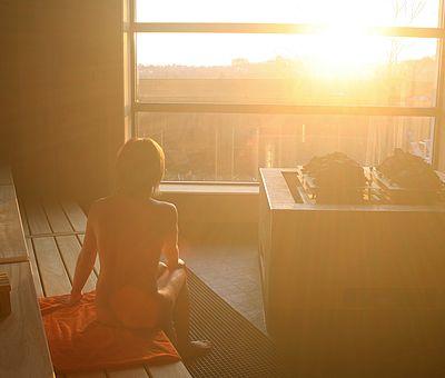 Entspannen, genießen und die Seele baumeln lassen in der Sauna im Panoramabad in Georgsmarienhütte