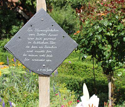 Poesie im Museumsgarten Bad Laer